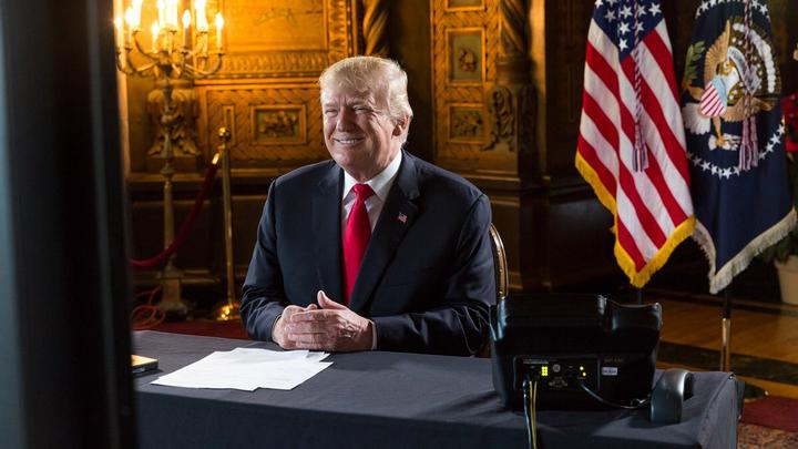 Словесный каламбур Трампа назвали словом года