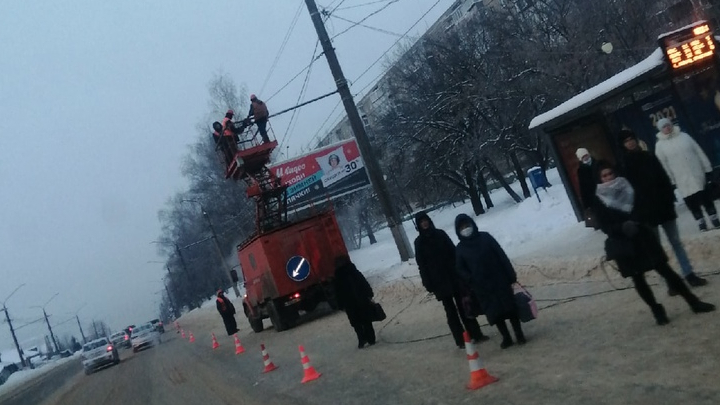 Половина Владимира осталась без троллейбусов