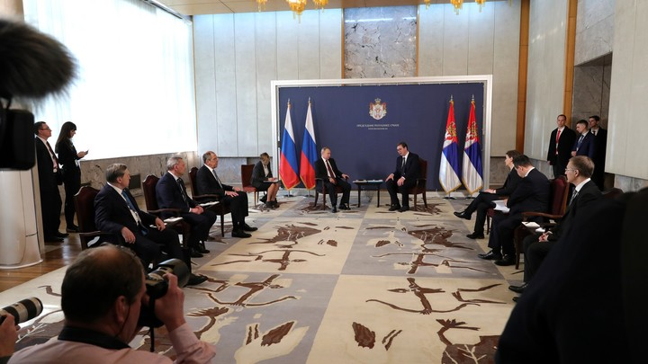 Симпатяга: Лохматый подарок по имени Паша понравился Путину