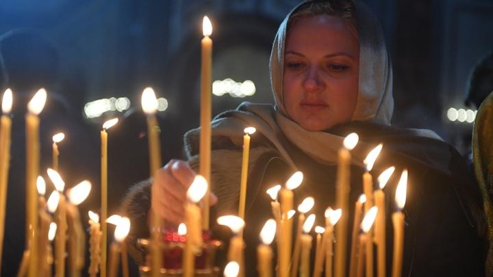 Афонские монахи привезли в Екатеринбург икону Георгия Победоносца