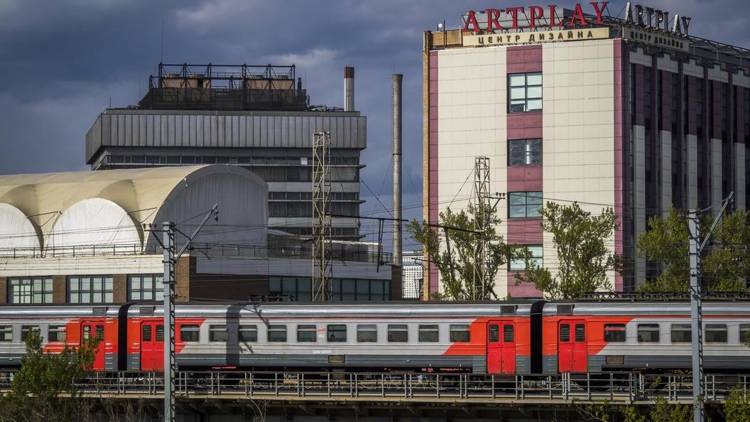 Пассажиров прибывшей на Курский вокзал электрички эвакуировали