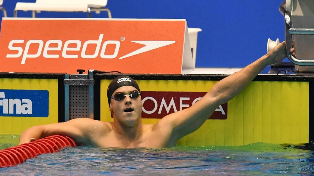 Пловец Морозов завоевал золото в стометровке на этапе кубка мира