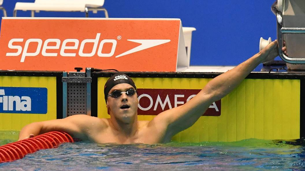 Пловец Морозов одержал победу на 2-х дистанциях Кубка мира
