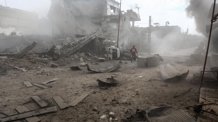 Боевики в Дамаске ударили по российским военным и мирным жителям
