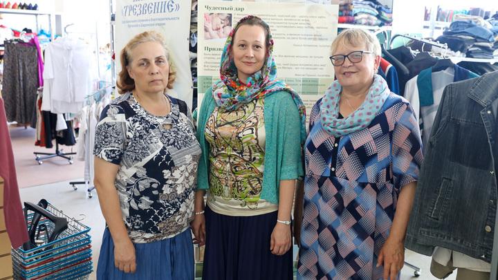 Курганская епархия раздает продуктовые наборы нуждающимся