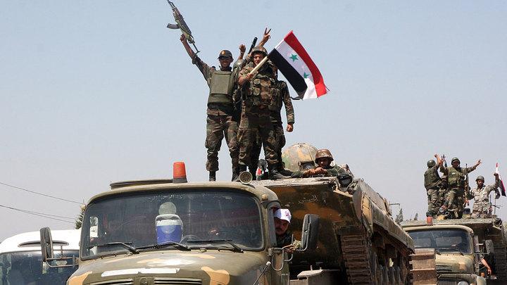 Сирия взяла под контроль границу с Иорданией