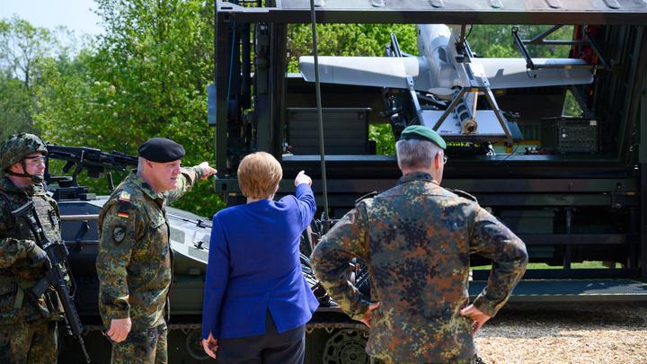 Немецкие солдаты возвращаются домой с психическими заболеваниями - СМИ