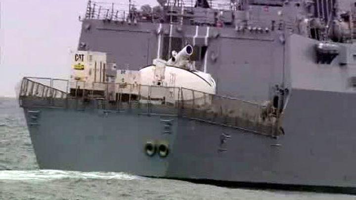 Американский корабль открыл огонь близ иранских судов в Персидском заливе