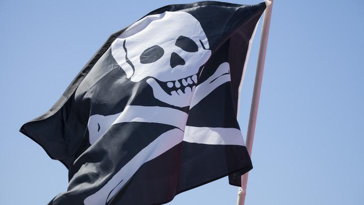Американские моряки сменили флаг на пиратский