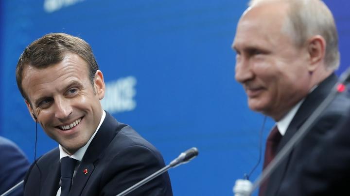 Встреча Путина и Макрона окончательно «растопила» отношения России и Франции