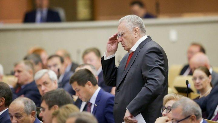 «А Балтийское море назовем Варяжским»: Жириновский потребовал топонимической справедливости
