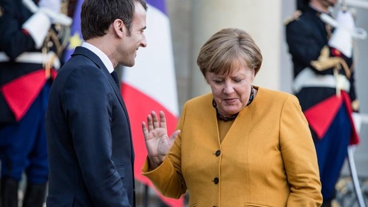 Меркель не даёт Макрону стать Наполеоном