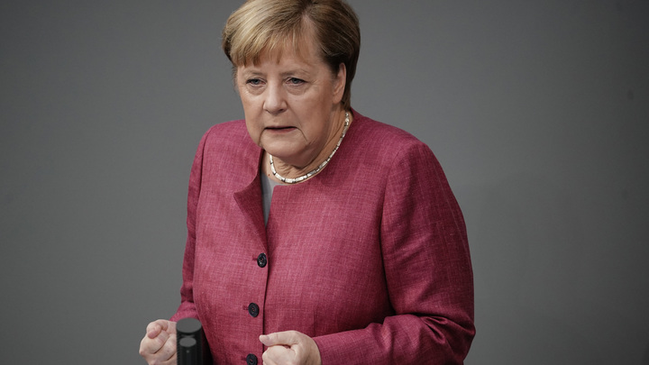 Самый громкий панкреатит вырос до Конвенции о химоружии: Меркель выступила с заявлением