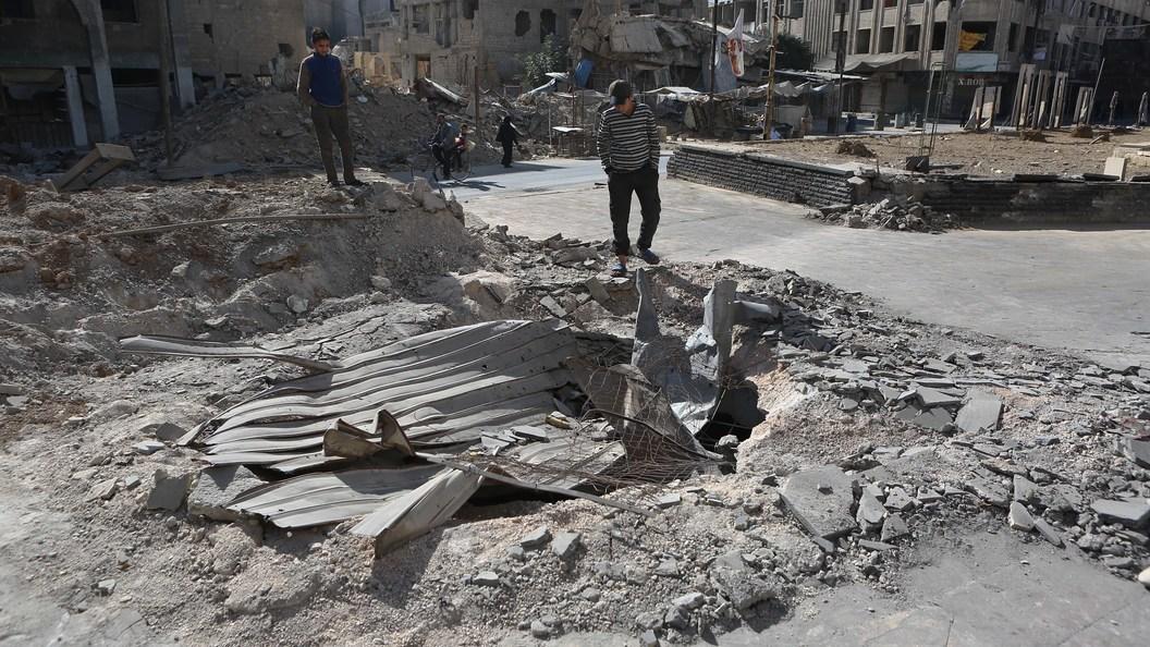США призвали РФ вынудить власти Сирии закончить «варварские атаки»