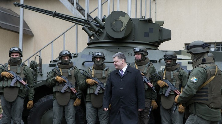 ВСУ перебросилитанки к Авдеевке и Дебальцево для наступления