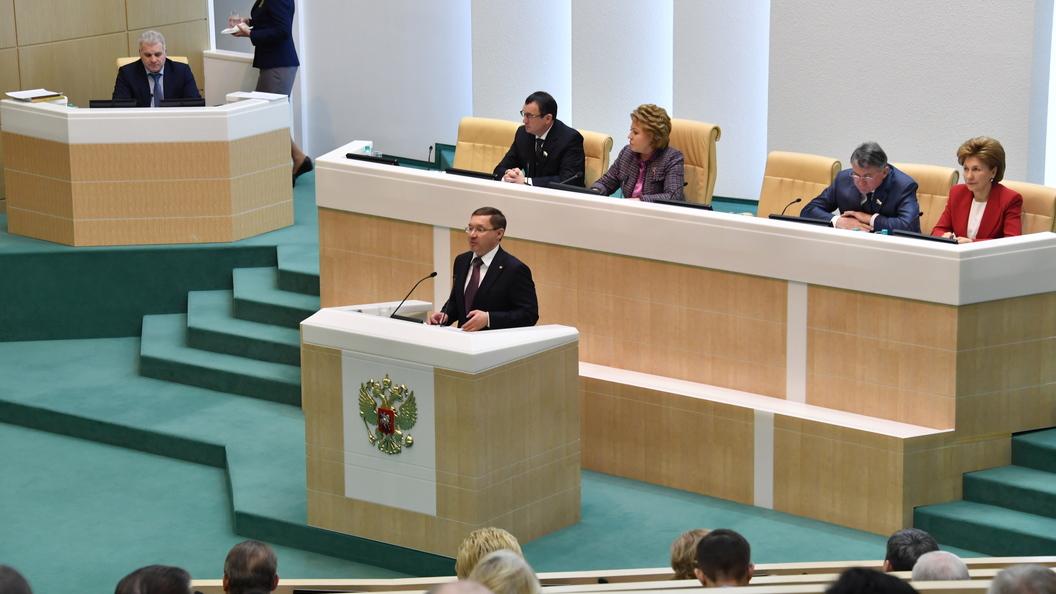 РФ неизменит позицию поКрыму из-за санкций— Совфед