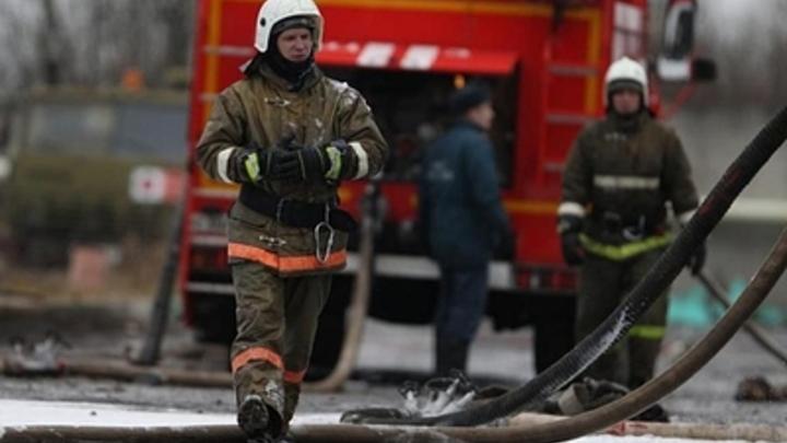 В Челябинской области на трассе М5 загорелся легковой автомобиль