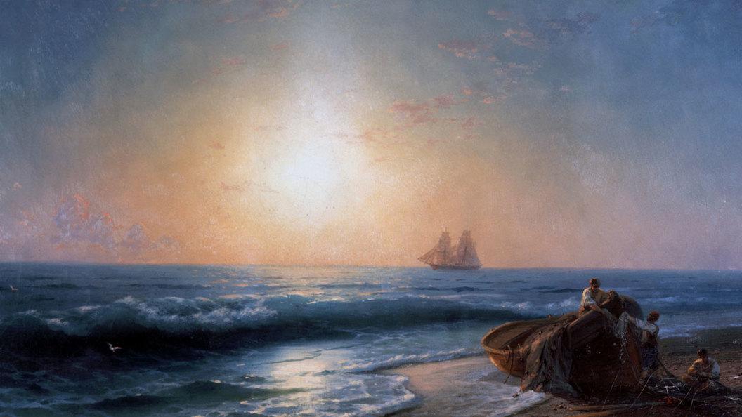 Иван Айвазовский: И Дух Божий носился над водою