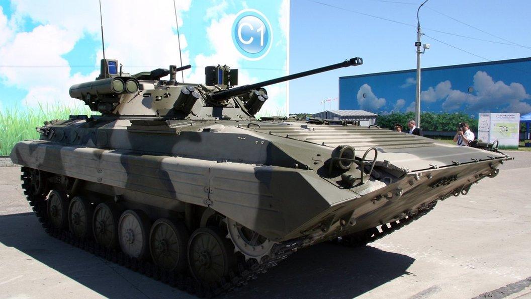 БМП-2М с боевым модулем Бережок переданы военным в Сибири