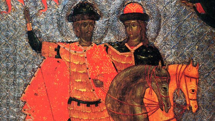 Благоверные князья-страстотерпцы Борис и Глеб. Православный календарь на 15 мая