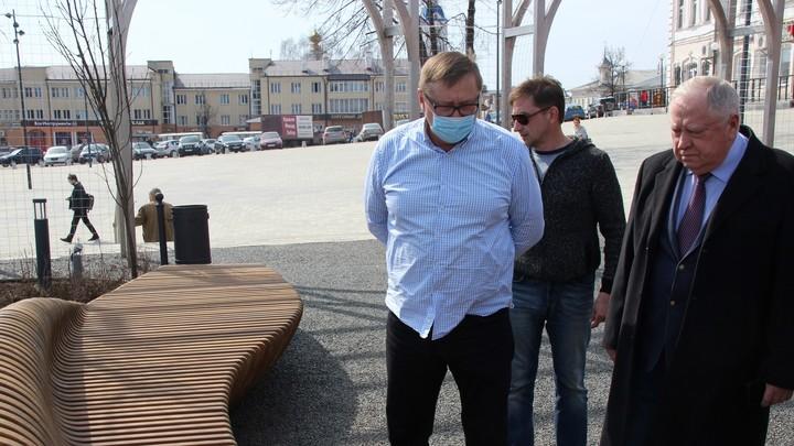 Знаменитые кинешемские скамейки за миллион рублей отправлены на ремонт