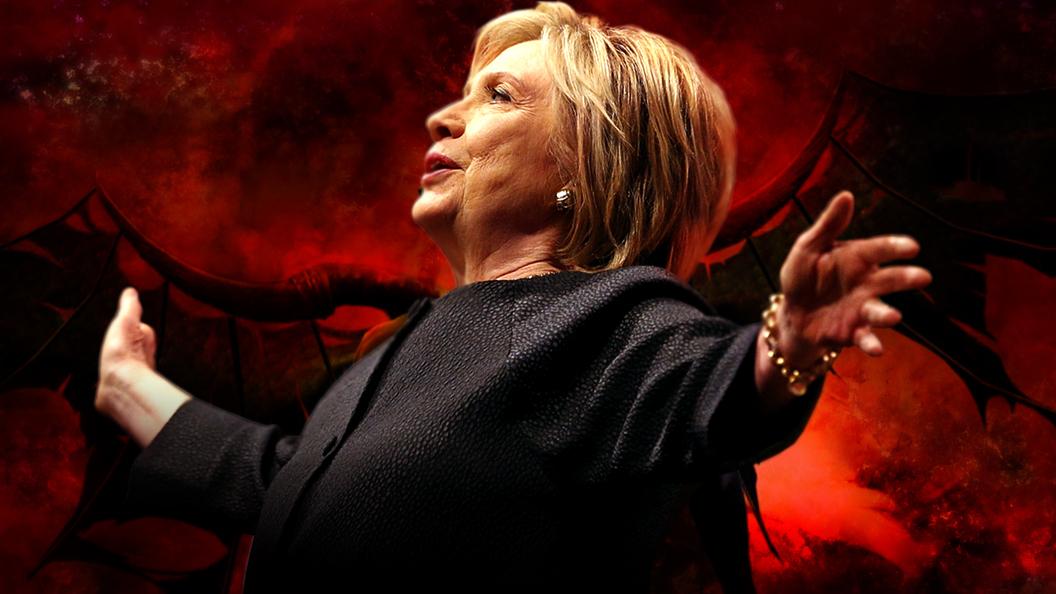 Хиллари Клинтон - кандидат дьявола