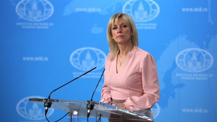 Захарова развенчала миф Франции об агрессии российского спутника