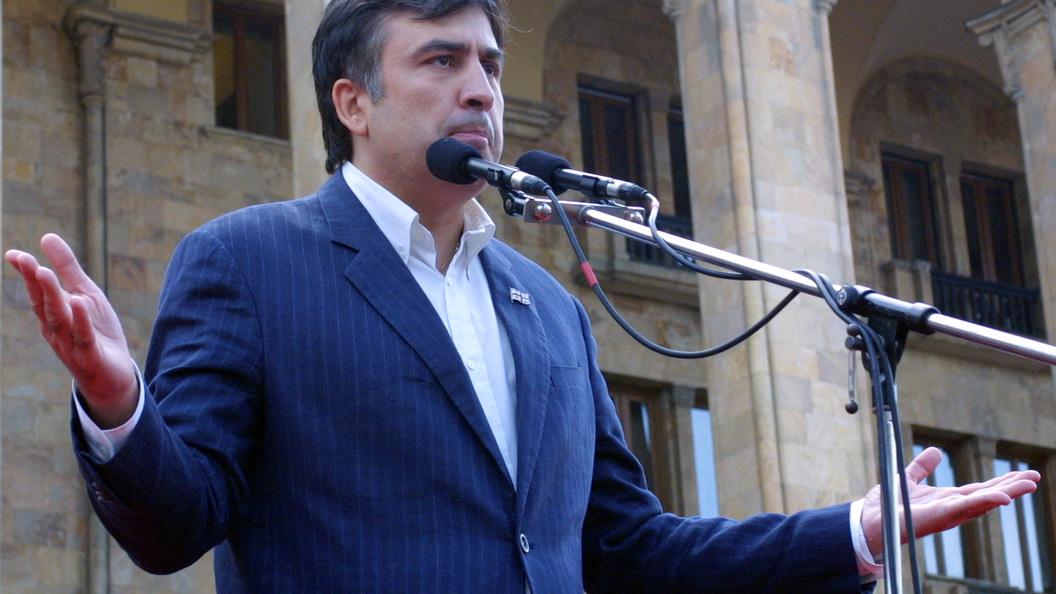 Вweb-сети интернет появилось видео задержания Саакашвили