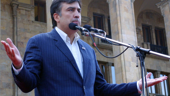 Больше не бомж: Саакашвили прописали в Нидерландах