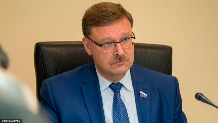 Косачев: Безвиз с ЕС выбил из Порошенко остатки здравого смысла