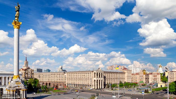 Георгиевская лента на Украине законодательно попала под запрет