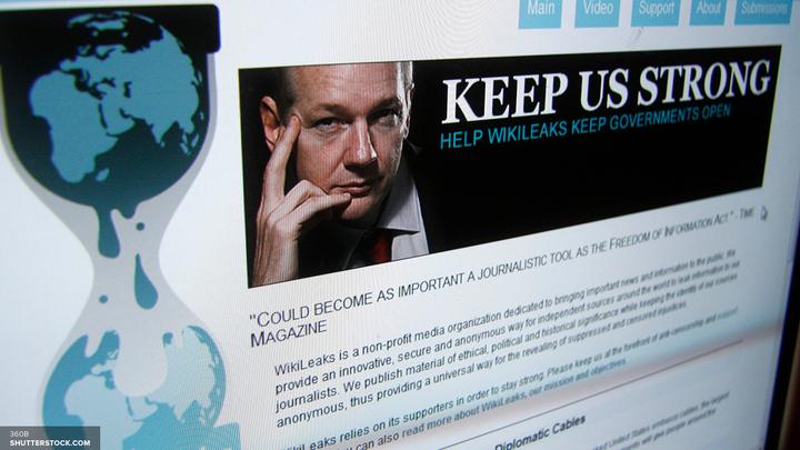 Очередная порция слива: WikiLeaks обнародовал часть конфиденциальных документов ЦРУ