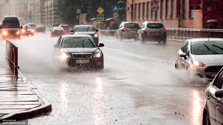 Желтый уровень опасности: На Москву идет снег