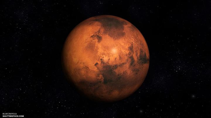 Марс погубила ядерная война - уфологи