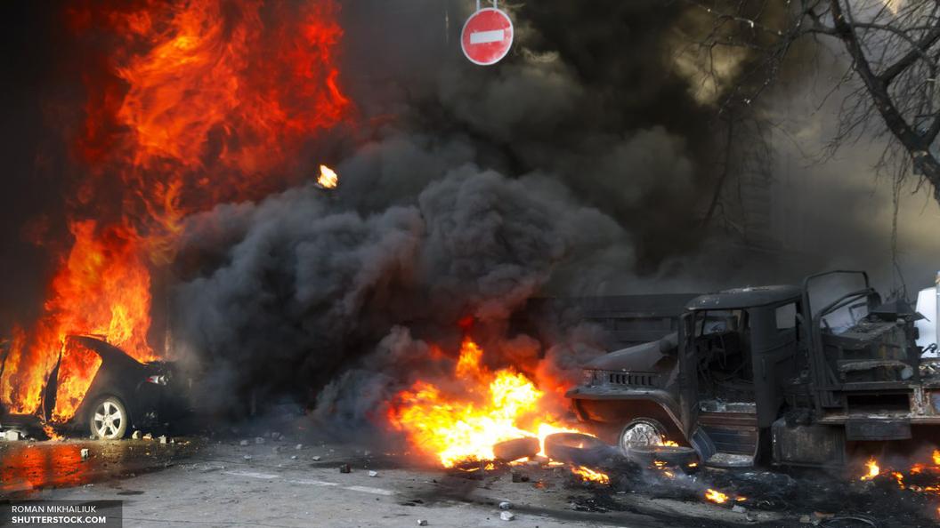 Опубликовано страшное видео взрыва Дворца правосудия в Дамаске