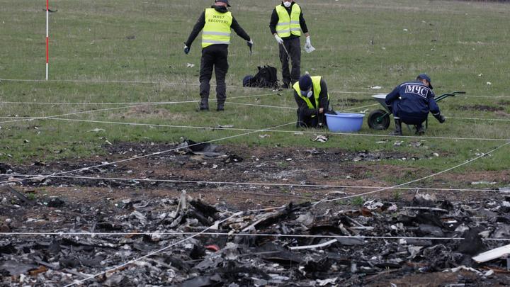Родные жертв трагедии MH17 променяли правду о крушении на слова священника с украинским подсолнухом