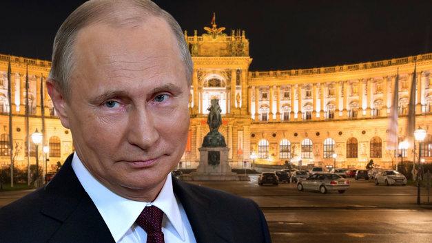 «Царь прибыл в Вену»: Зарубежные СМИ о визите Путина в Австрию