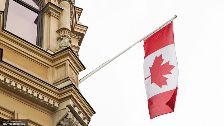 В Канаде воздушный шар упал с влюбленными