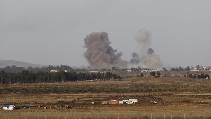 Израиль сразил ракетную установку натерритории Сирии