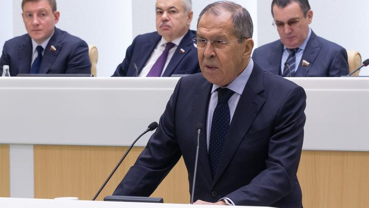 Слово Лаврову. Россия готова хранить ключ безопасности, но в диалоге о мире места санкциям нет