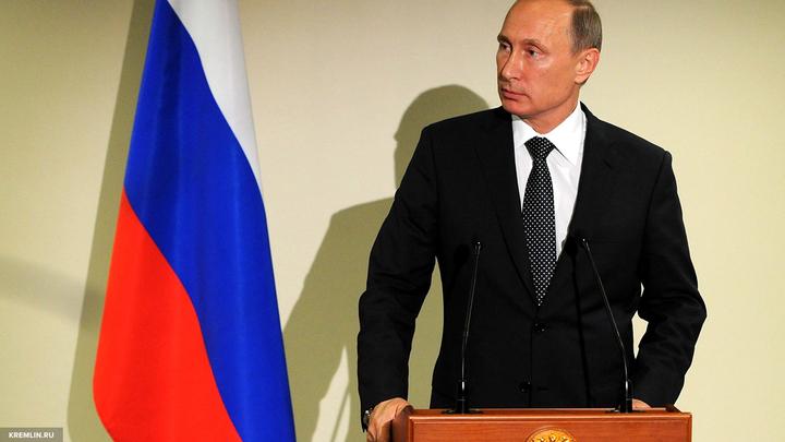Владимир Путин рассказал о людях в черном у власти в США
