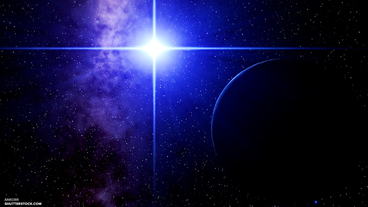 Аппарат NASA случайно снял огромный светящийся НЛО