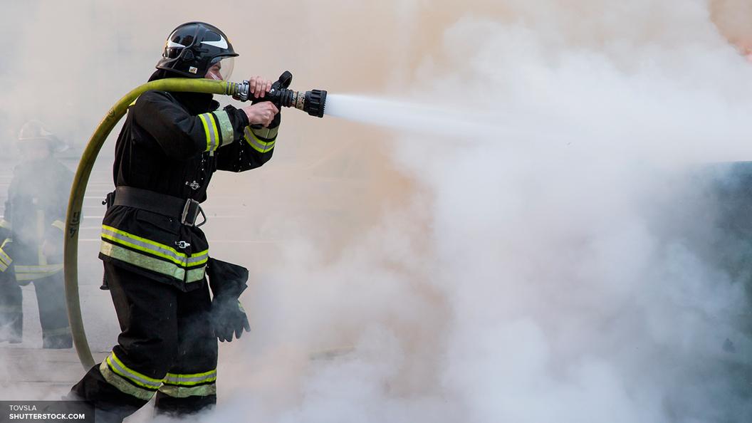 В Красноярском крае горит аэропорт