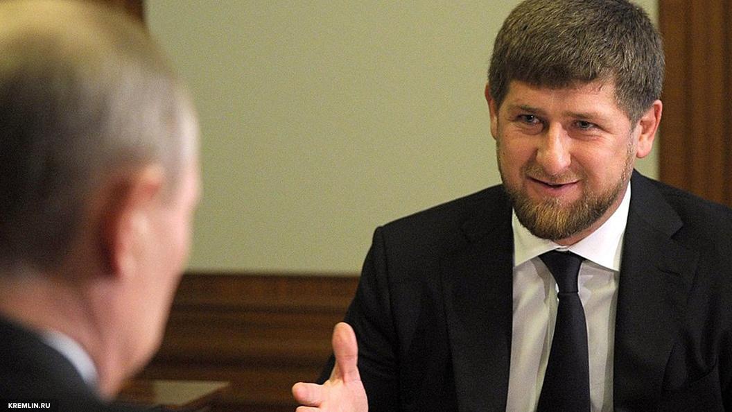 У нас таких нет: Кадыров прокомментировал слова Путина о голубых мундирах