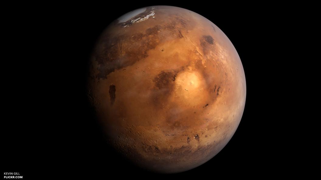 Ученые: Астероиды наполнили атмосферу Марса железом