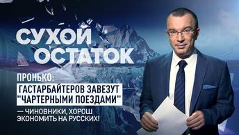 Пронько: Гастарбайтеров завезут чартерными поездами - чиновники, хорош экономить на русских!