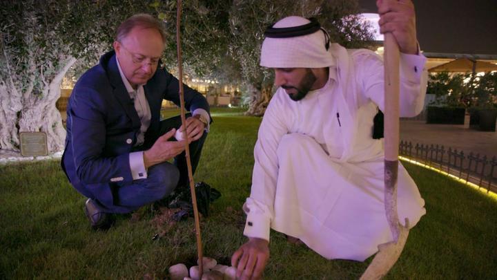 Растёт и в Катаре берёзка. Деревце стало символом автопробега Москва - Доха иценнейшим экспонатом