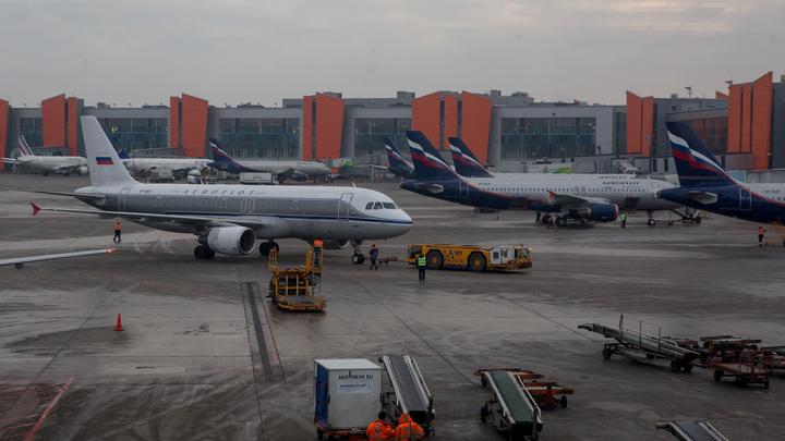 В Аэрофлоте объяснили сигнал бедствия самолетаКалининград - Москва