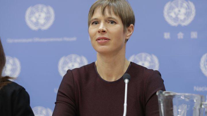 У руля в Таллине - группа мудрецов: Вслед за министром обороны президент Эстонии раскритиковала возвращение России в ПАСЕ