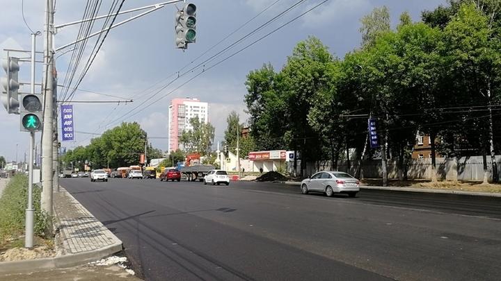 В Нижнем Новгороде ремонт проспекта Гагарина завершат 29 июля